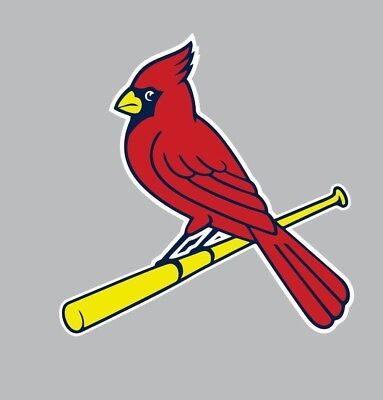 St  Louis Cardinals Mlb Baseball Full Color Sports Decal Sticker Free Shipping