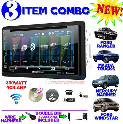 1995-2007 FORD MERCURY BLUETOOTH CD USB AUX RADIO STEREO INSTALLATION DOUBLE DIN