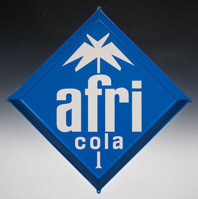 Blechschild afri Cola wohl um 1960