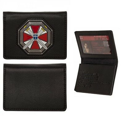 Resident Evil ID CARD WALLET 20th Anniversary Umbrella Corp Logo UBCS Cosplay on Lookza