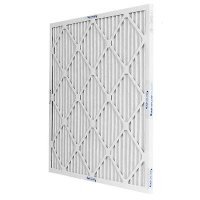 16x25x1 MERV 13 High Efficiency Pleated Home Air Filter ALLERGY RELIEF (12 Pack)