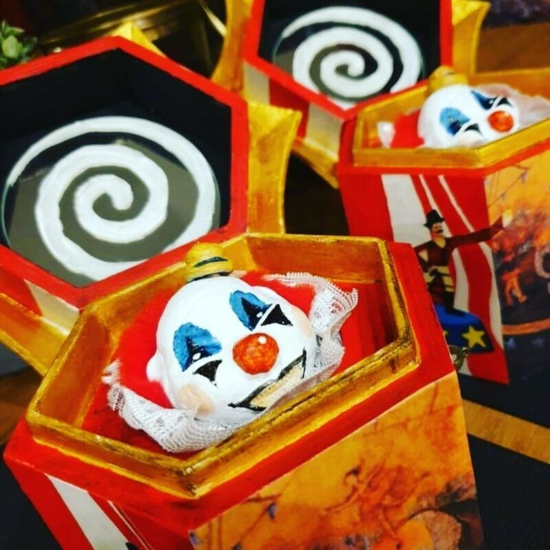 Clown Music Box Horror Movie Prop from the Conjuring Universe