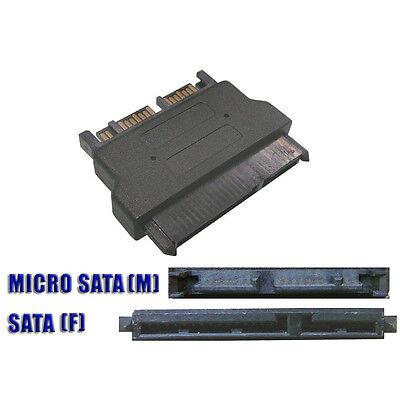 Cambiador Adaptador SATA 22 Puntos A Micro Microsata