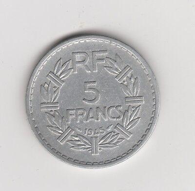 5 Francs  Frankreich   1945     (2233)