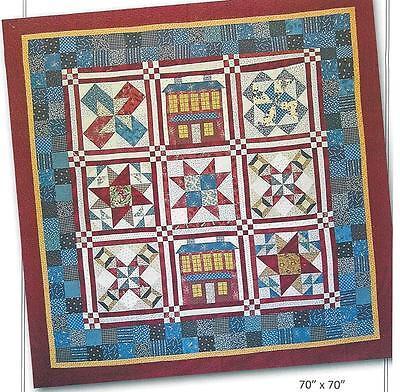 Americana Sampler Quilt Pattern By Nancy Rink For Nancy Rink Designs - $8.50