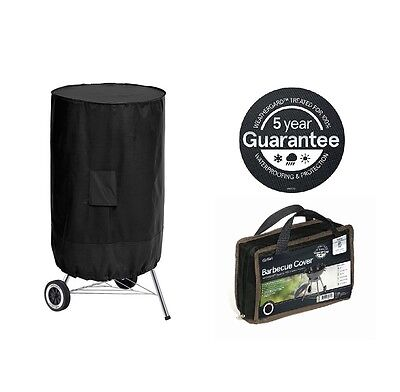 Kettle BBQ Cover Heavy Duty Barbecue Cover PVC Rain Mildew Frost Resistant