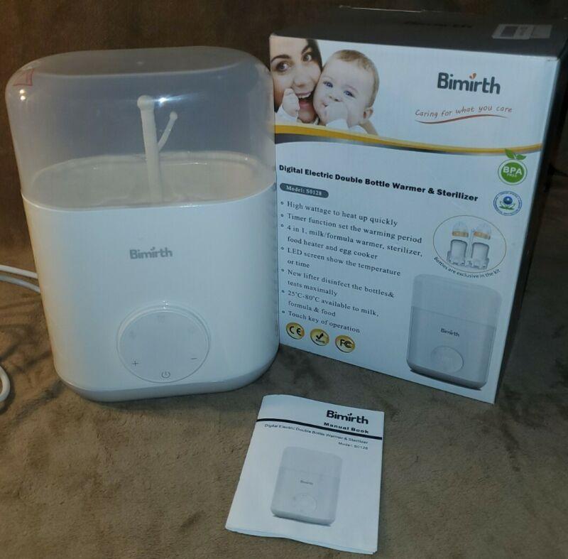 Bimirth 4in 1 Digital Double Bottle Warmer and Sterilizer T6