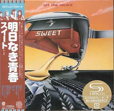 SWEET-OFF THE RECORD +1-JAPAN MINI LP SHM-CD Ltd/Ed G00