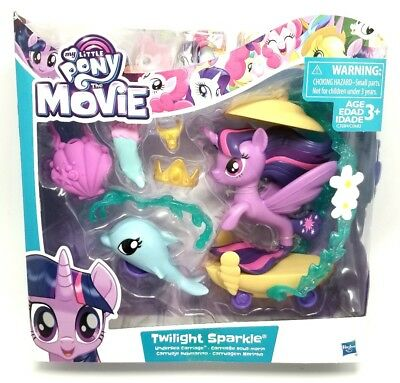 My Little Pony The Movie Twilight Sparkle Undersea Carriage Playset Set Pack (My Little Pony Twilight Sparkle Carriage Set)