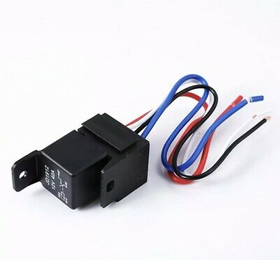 Car Auto Dc 12v Volt 3040a Automotive 4 Pin 4 Wire Relaysocket 30amp40amp Us