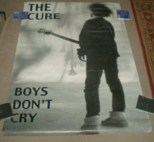THE CURE Boys Don't Cry Original Made In England Subway POSTER 39X58 HUGE RARE