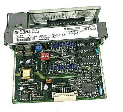 Allen Bradley Slc500 Analog Input Module 1746 Ni4 Series A