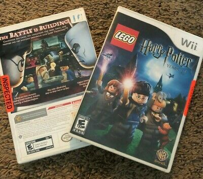Lego Harry Potter:Years 1-4 & Years 5-7 Games for Nintendo Wii Retired Free ship