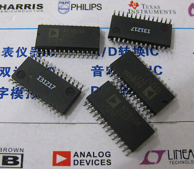 1 X Ad1865r 28-pin Soic Package Complete Dual 18-bit 16 X Fs Audio Dac
