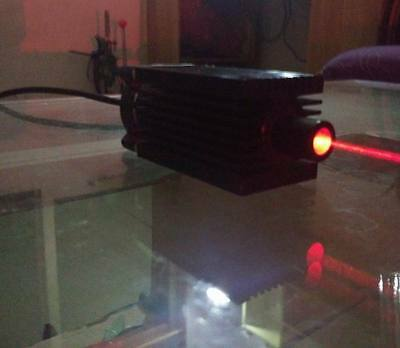 Focusable Real 650nm 1000mw 1w Red Laser Module Ttl Modulation