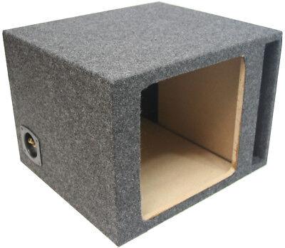 Single 12 Car Stereo Kicker Square L3 L5 L7 Ported Sub Enclosure Subwoofer Box 12' Car Sub Subwoofer