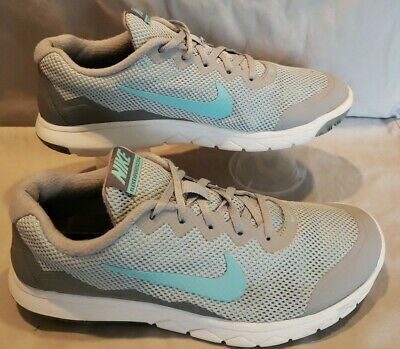 NIKE Size 9 Flex Experience RN4 Gray Women's Running Shoes