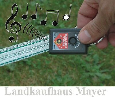 Fence Checker Zaunprüfer Weidezaun Elektrozaun Zauntester Tester Zaunkontrolle