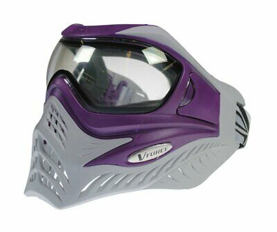 V-FORCE Grill Paintball Mask with Thermal Lens Goggle - Purple on -