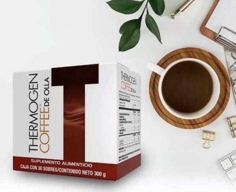 Omnilife Thermogen COFFEE DE OLLA Box With 30 Sachets **FREESHIPPIG**