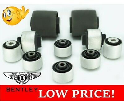 Bentley Continental GT GTC & Flying Spur Upper & Lower Control Arm Bush Kit
