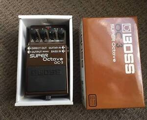 Boss OC3 Super Octave Pedal Mount Annan Camden Area Preview