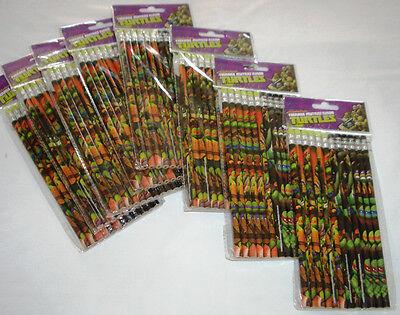 Teenage Mutant Ninja Turtles Wood Pencil Child Birthday Party Favors Bag Fillers - Ninja Turtles Favors