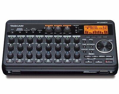 TASCAM DP-008EX Digital Portastudio 8-Track Portable Multi-Track Recorder ✔NEW✔