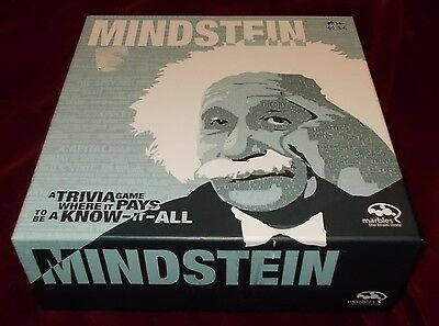 MINDSTEIN Trivia Game - It Pays to Be A Know It All, Marbles Brain Store 14+