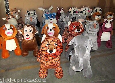 "BRAND NEW ""COIN OPERATED ANIMAL RIDES"" (4 ANIMALS TOTAL + FREE FAST SHIPPING)"