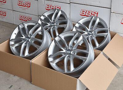 BBS SX silber 4 Felgen 7,5x17 Zoll SX0302 für Audi A4 Typ B8 + B9 mit ABE ()