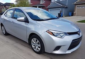 2015 Toyota Corolla LE Sedan with only 41K kms