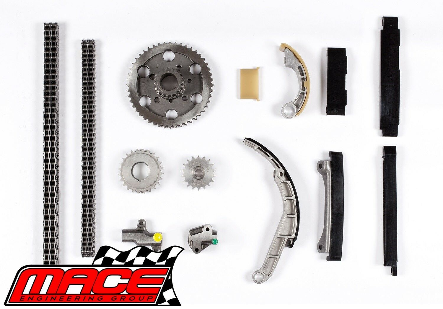 Details about DOUBLE ROW TIMING CHAIN KIT FOR NISSAN NAVARA D22 D40 YD25DDT  YS25DDTI 2 5L I4