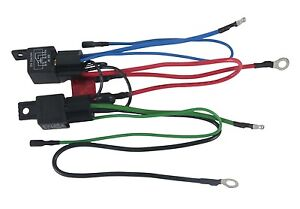 tilt trim relay parts accessories new wiring harness convert 3 wire tilt trim motor to 2 wire 30 amp fuse 2