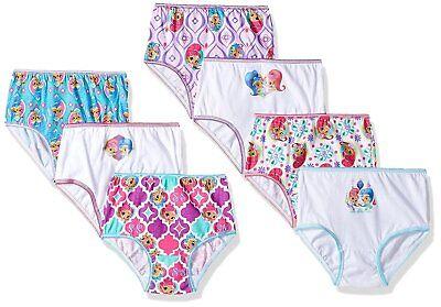 Nickelodeon Toddler Girls' Shimmer and Shine 7 Pack Underwear ()