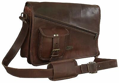 Leather Messenger Bags for Men Women Briefcase Laptop Bag Best laptop