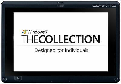 Acer Iconia W501P Wi-Fi 3G Cellular, 10.1in Black/Grey Windows Tablet NO HDD for sale  Shipping to South Africa