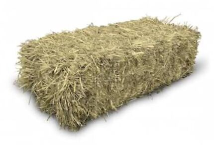 GRASS HAY - $3 per bale. Weather damaged  suited to Mulch