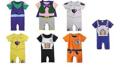 Dragon Ball Z Infant Baby boy coslpay romper and costume for Toddler Multi model