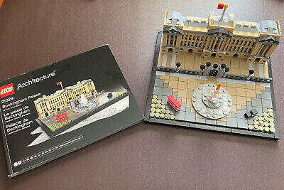 LEGO Architecture Buckingham Palace (21029) With Instructions Booklet-MINT