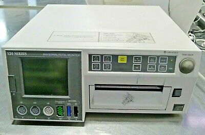 Ge Corometrics 120 Series Maternal Fetal Monitor