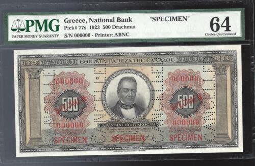 1923 $500 DR . pICK 77S- pmg64