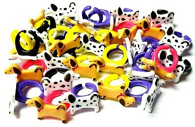10pc Dog Rings kids party favor Pinata Toys giveaways souvenirs gadget present