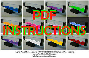 Lava Wave Motion Machine Instructions Pdf Hughes Wave