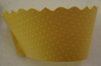 Yellow Cupcake Wrappers (Lot 72 Dress My Cupcake Yellow Cupcake Wrappers bee spring duck baby)