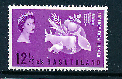 BASUTOLAND 1963 FREEDOM FROM HUNGER CROWN AGENTS OMNIBUS  MNH