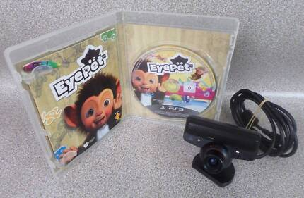 Playstation 3 PS3 EyePet Game Complete With Eye Camera - PAL