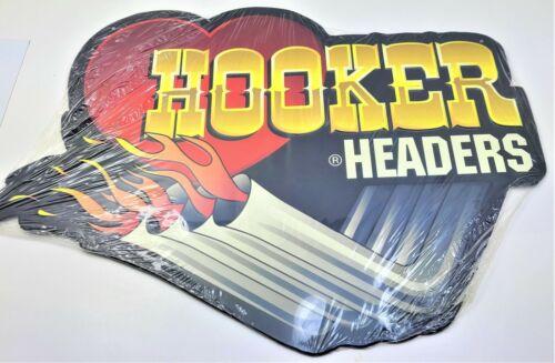 Open Road Hooker Header Vintage Tin Metal Wall Art Garage Tin Sign