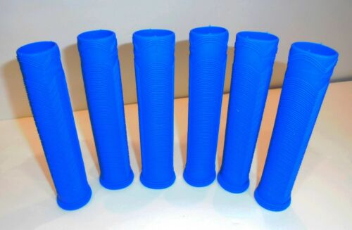 6 NEW PYTHON ROYAL BLUE RUBBER RACQUETBALL GRIPS