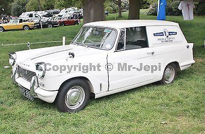 """Triumph Courier Van  1962 - 1966    Photo  6""""  x  4"""""""